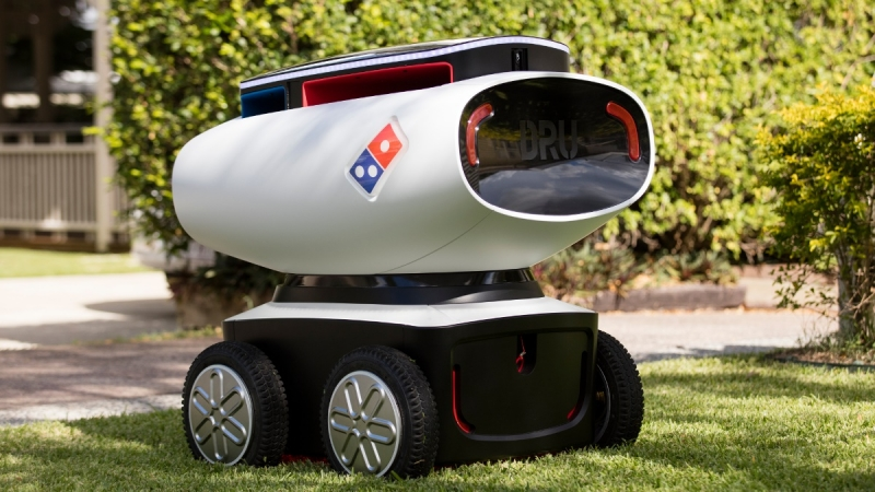 Meet DRU, the world's first autonomous pizza delivery vehicle from Domino's