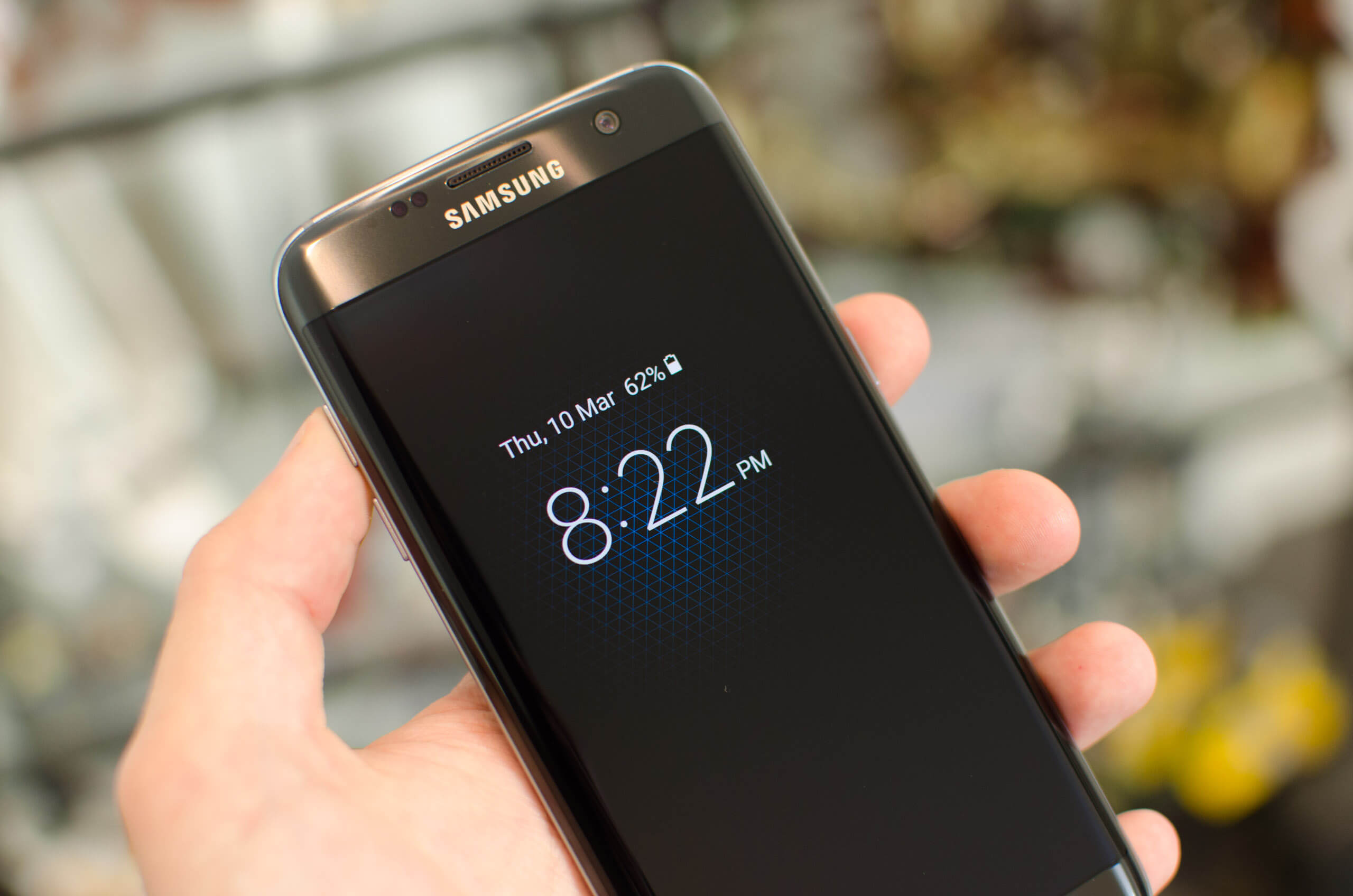 Tested: The Galaxy S7's always-on display consumes very little
