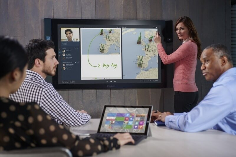 After 14 months and two postponements, Microsoft is finally shipping the Surface Hub