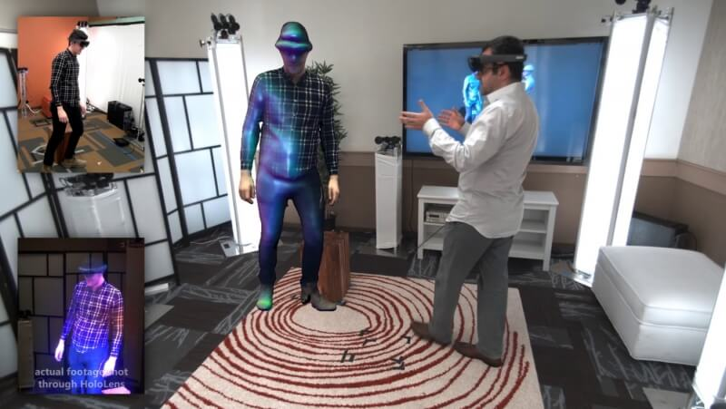 Check out Microsoft's Star Wars-style holographic communications system in action