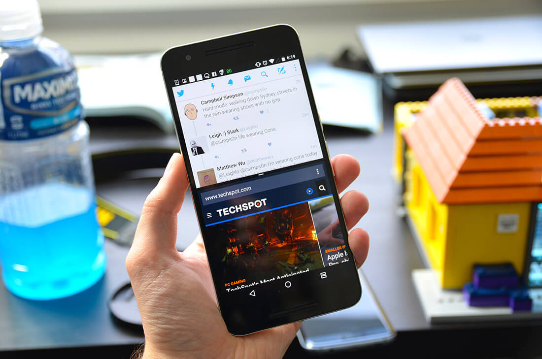 A few weeks with the Android N Developer Preview on the Nexus 6P