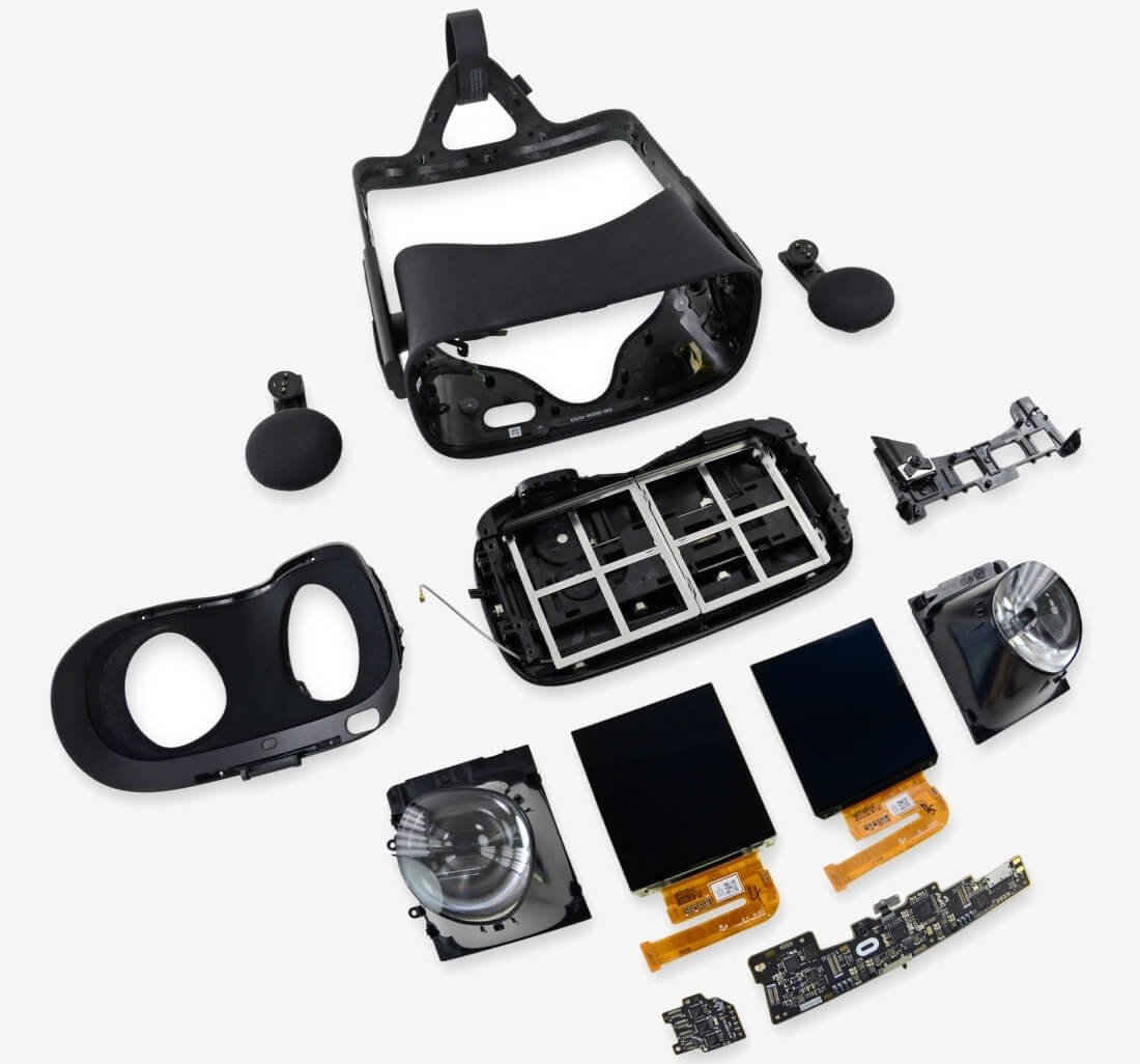 iFixit cracks open the Oculus Rift to see what makes it tick