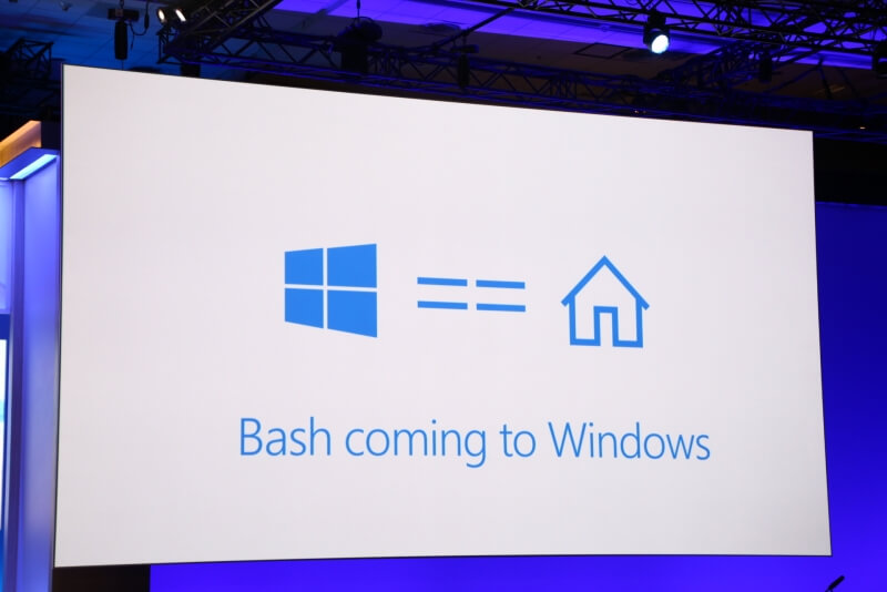 The Linux command line and Bash shell is coming to Windows 10
