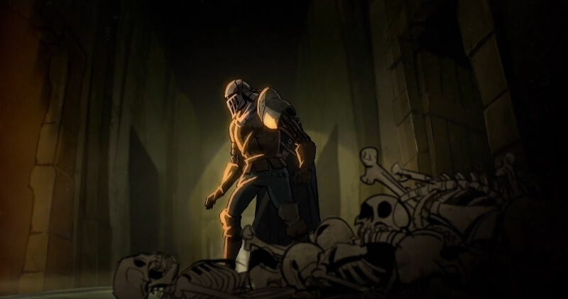 Check out Eli Roth's Dark Souls animation and Bandai Namco's 80s horror trailer for Souls 3