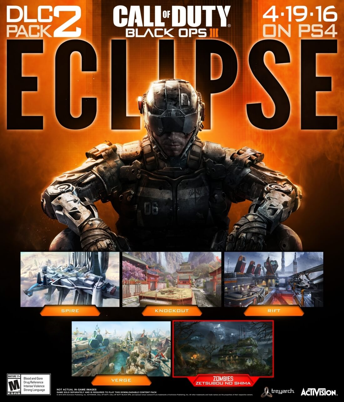 Black Ops III: Eclipse DLC includes four new multiplayer