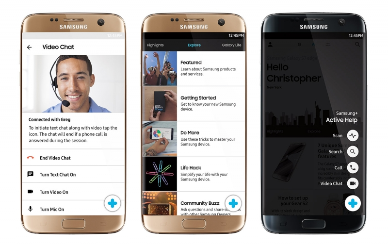 You can now let Samsung reps remotely control your Galaxy S7