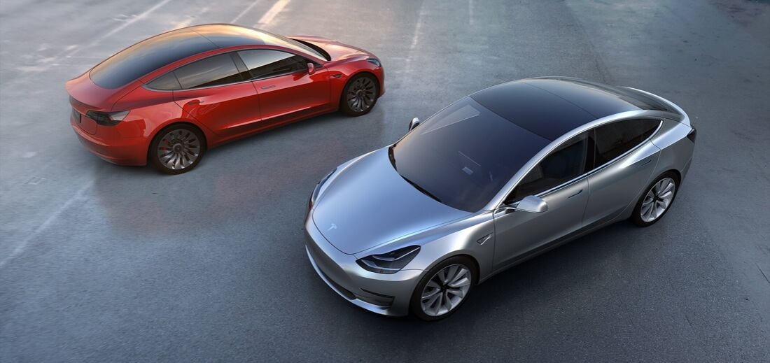Tesla\'s Model 3: At least 215 miles per charge, 0-60 in under six ...