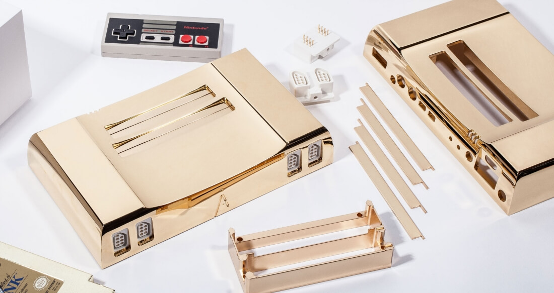 This 24k gold-plated NES will set you back $4,999