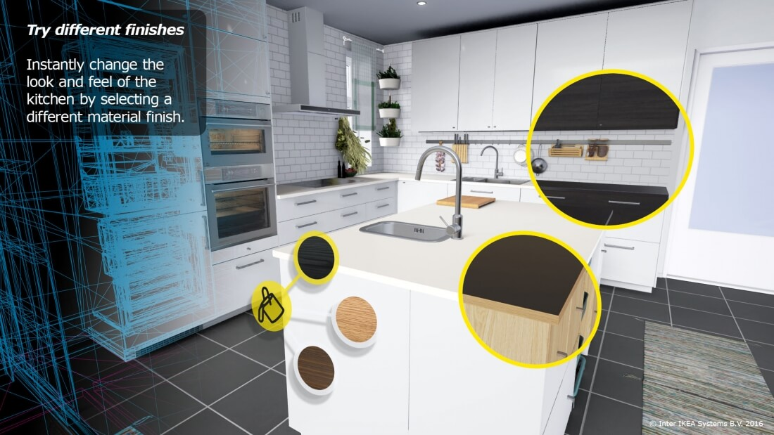 Ikea has developed a virtual reality experience for the HTC Vive