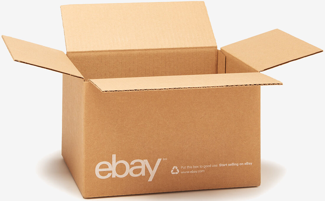 ebay launches shipping supply store stocked with branded boxes envelopes and tape techspot. Black Bedroom Furniture Sets. Home Design Ideas