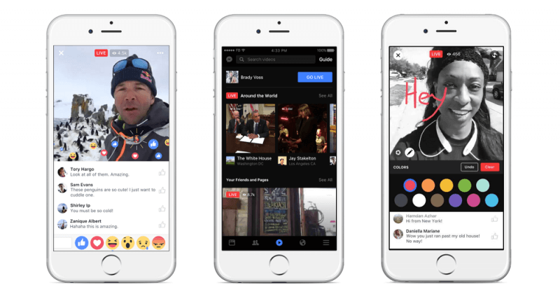 Facebook Live is getting a massive overhaul, introduces dedicated discovery tab and video reactions