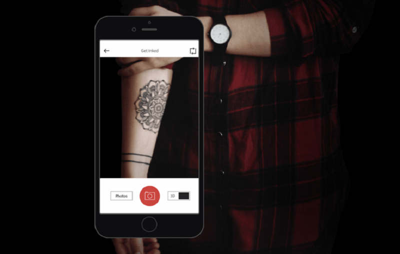 See what a tattoo will look like on your skin before you get inked with this AR app