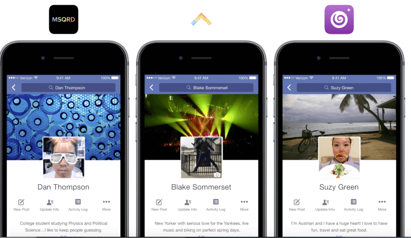 Facebook is letting users upload profile videos created in third-party apps like Vine