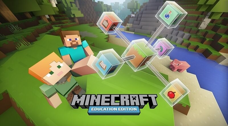 The Minecraft: Education Edition beta program will arrive in schools next month