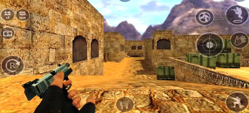 It's now possible to play Counter-Strike 1.6 on Android devices