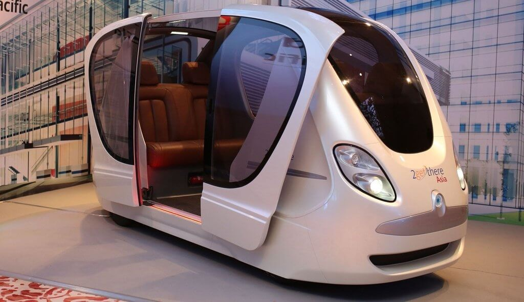 Driverless public transit pods to hit Singapore roads later this year