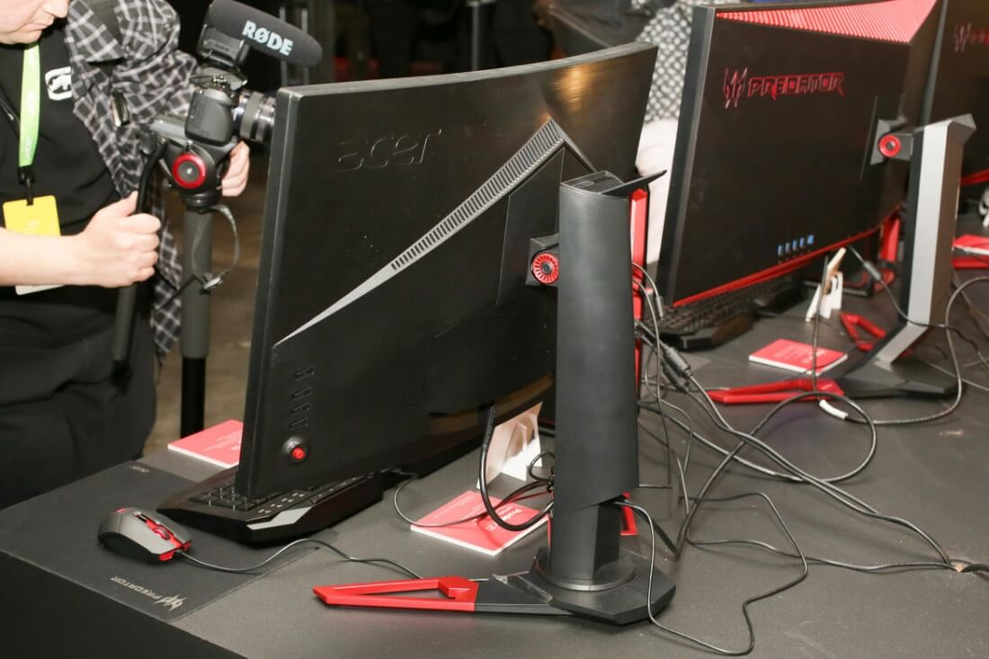 Acer launches new collection of Predator Z1 curved monitors