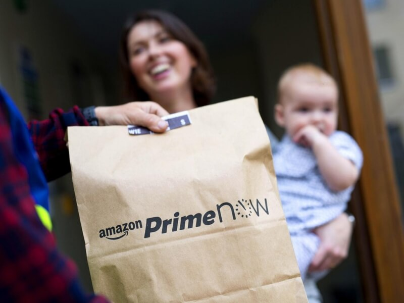 Amazon's Prime Now same-day delivery service gets a dedicated website