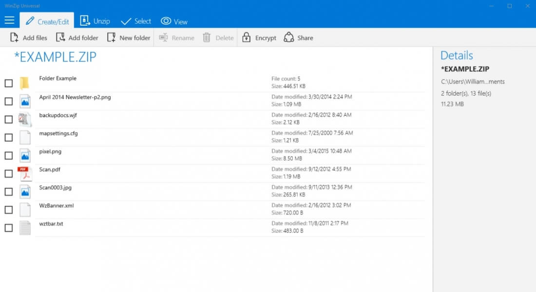 WinZip, apparently still a thing, launches Universal app for