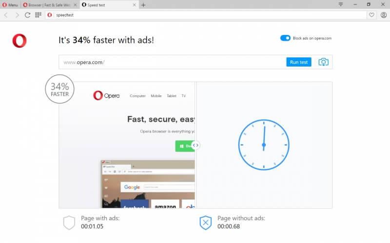 Opera's ad blocking browser gets stable desktop release and