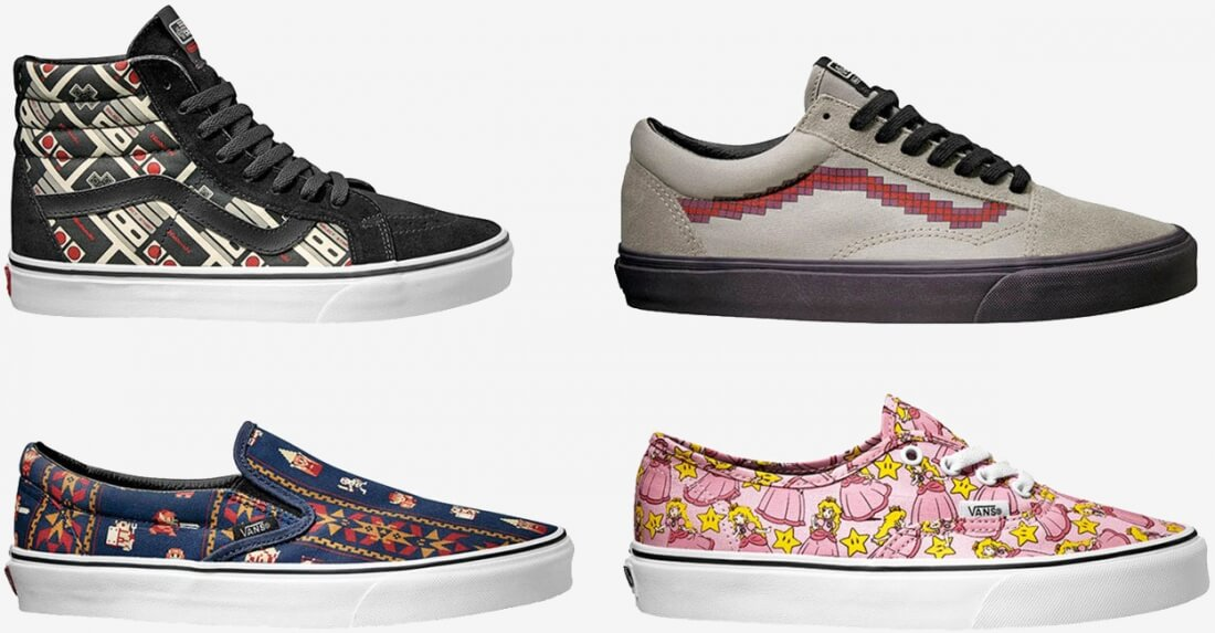 5239865f9729c0 Vans to release a Nintendo-themed retro shoe collection - TechSpot ...