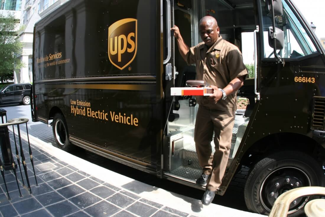 UPS finally allows customers to track packages on a map in real time