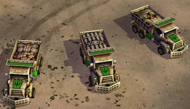 Russian embassy tweets screenshot from Command and Conquer to warn of extremists in Syria