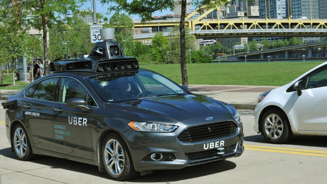 Uber confirms it's testing self-driving cars in Pittsburgh