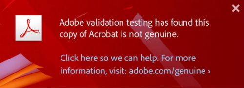 Adobe to use 'software integrity service' to convince