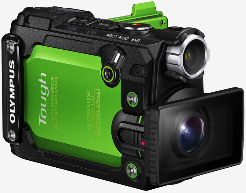 Olympus' latest action camera is as tough as they come