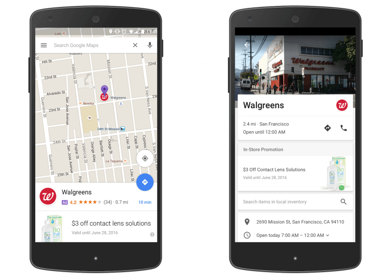 Google will introduce promoted pins to Maps as part of mobile ad business update