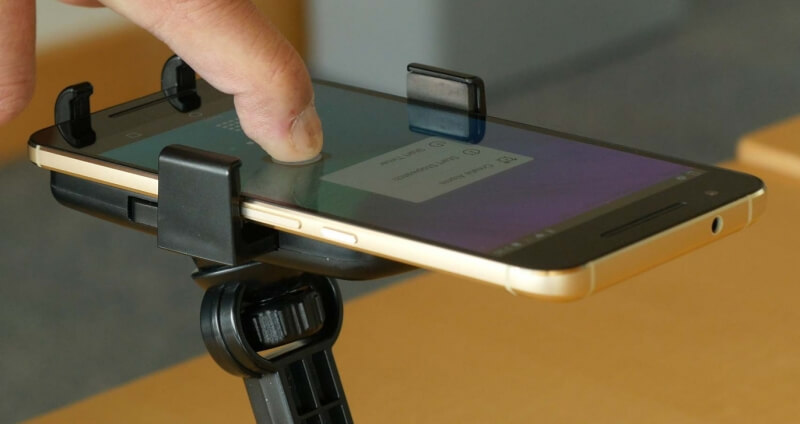 ForcePhone software uses sonar so any mobile device can detect pressure