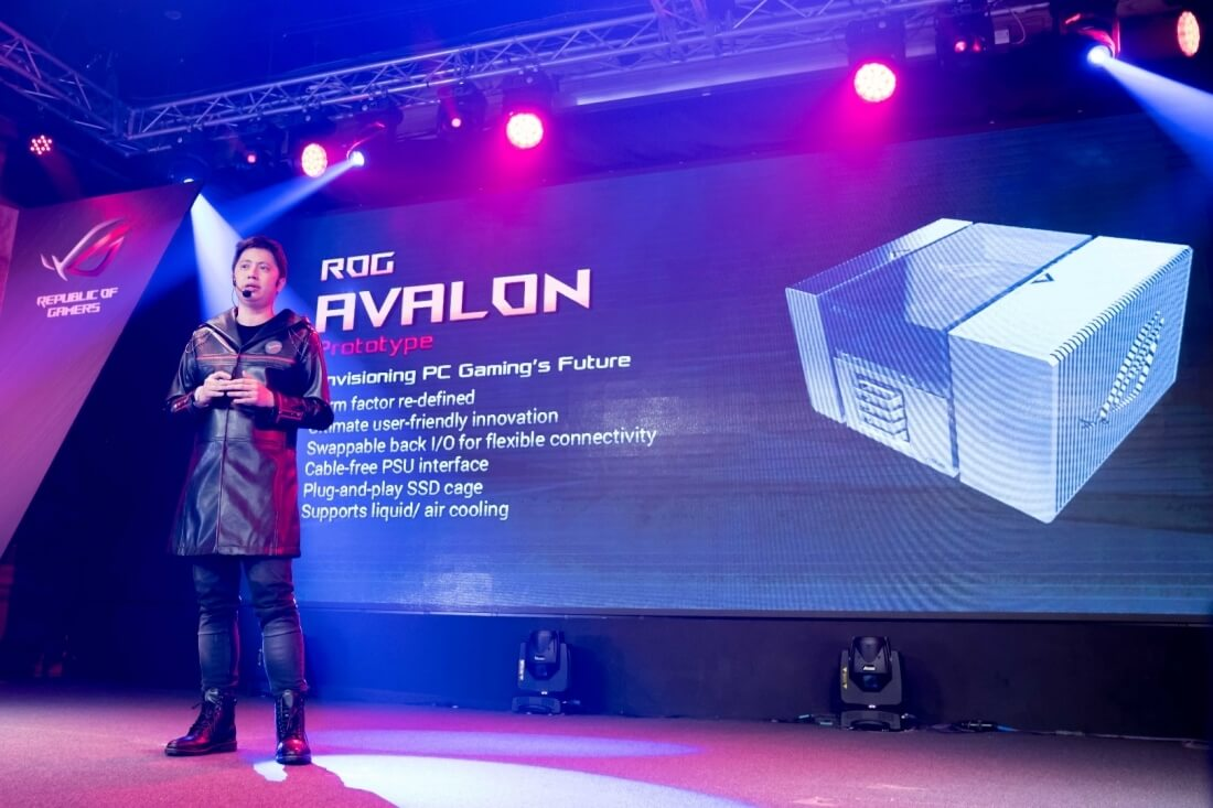 Avalon is Asus' take on the modular PC concept