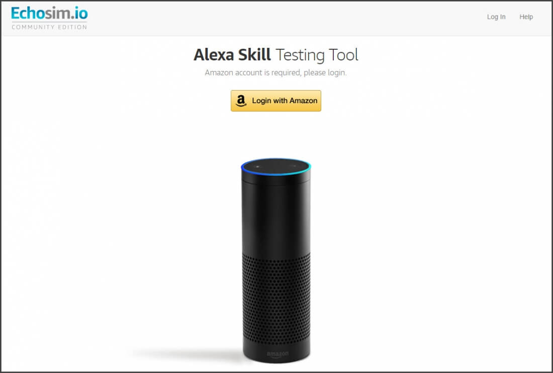 Now you can try the Amazon Echo with web-based Alexa simulator