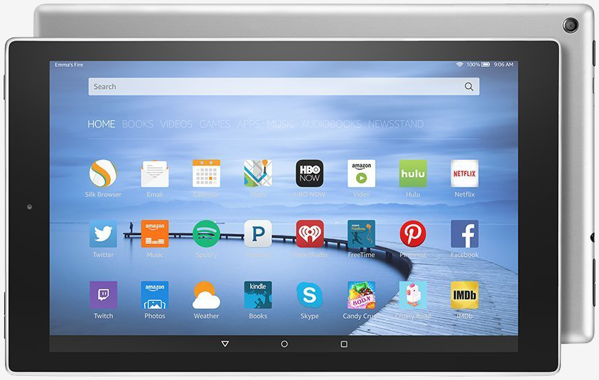 Amazon quietly refreshes Fire HD 10, adds aluminum chassis and more storage