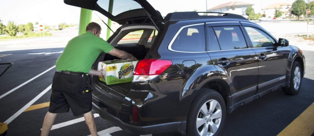 Walmart is partnering with Uber and Lyft to deliver groceries purchased online