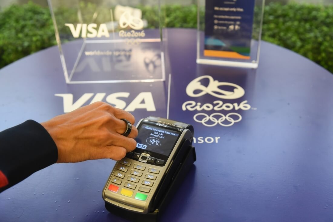 Visa will trial a new NFC-based payment wearable at the Olympic Games in Rio