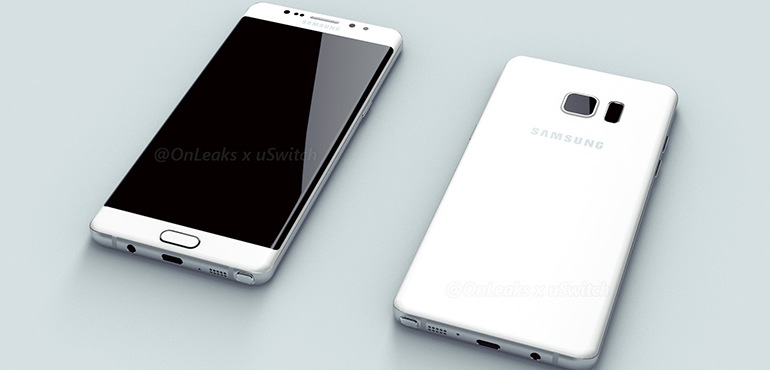 Leaked Galaxy Note 6 (Note 7?) blueprints reveal curved edges, USB Type-C, iris scanner and more