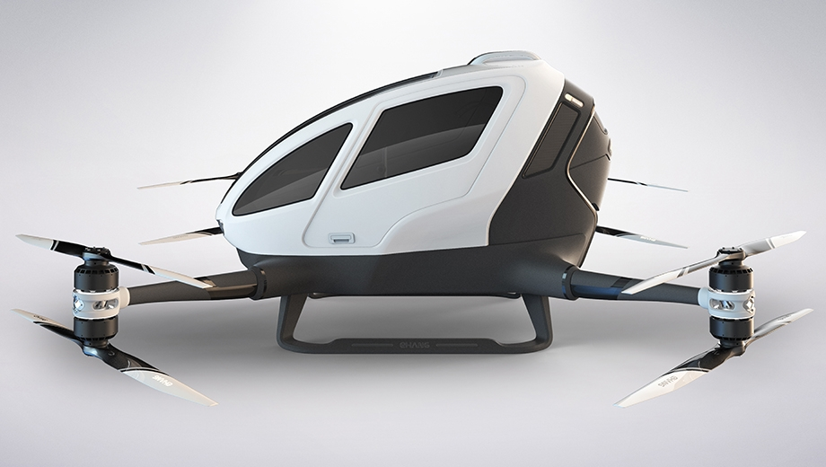 Personal autonomous aerial vehicle startup Ehang to begin testing in Nevada this year