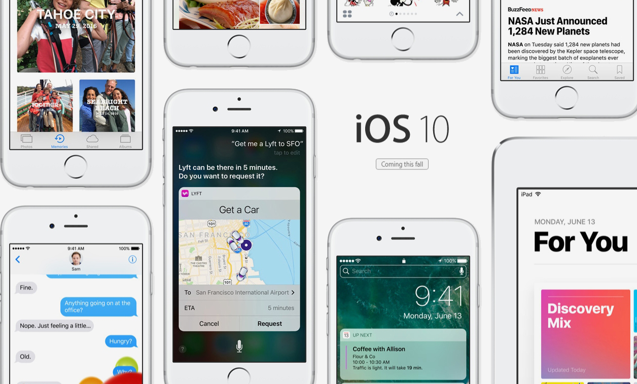 Apple launches iOS 10 update with a minor hiccup
