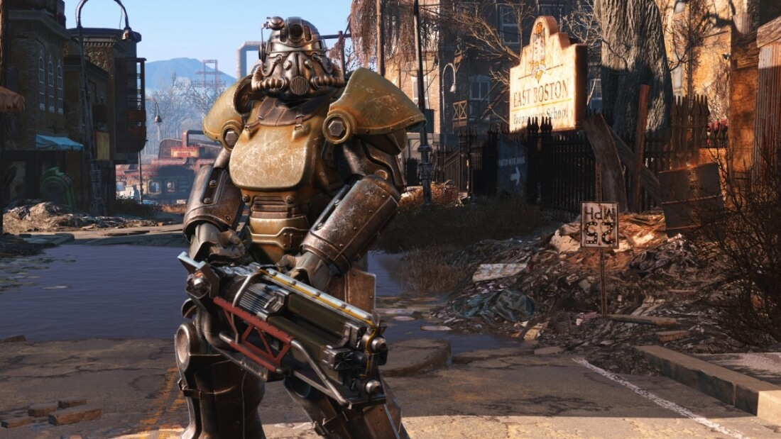 A virtual reality version of Fallout 4 will be released for the HTC Vive next year