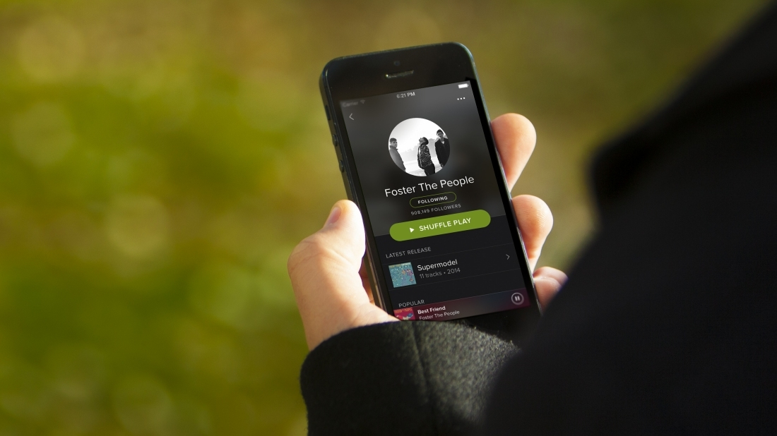 Spotify now has more than 100 million active monthly users