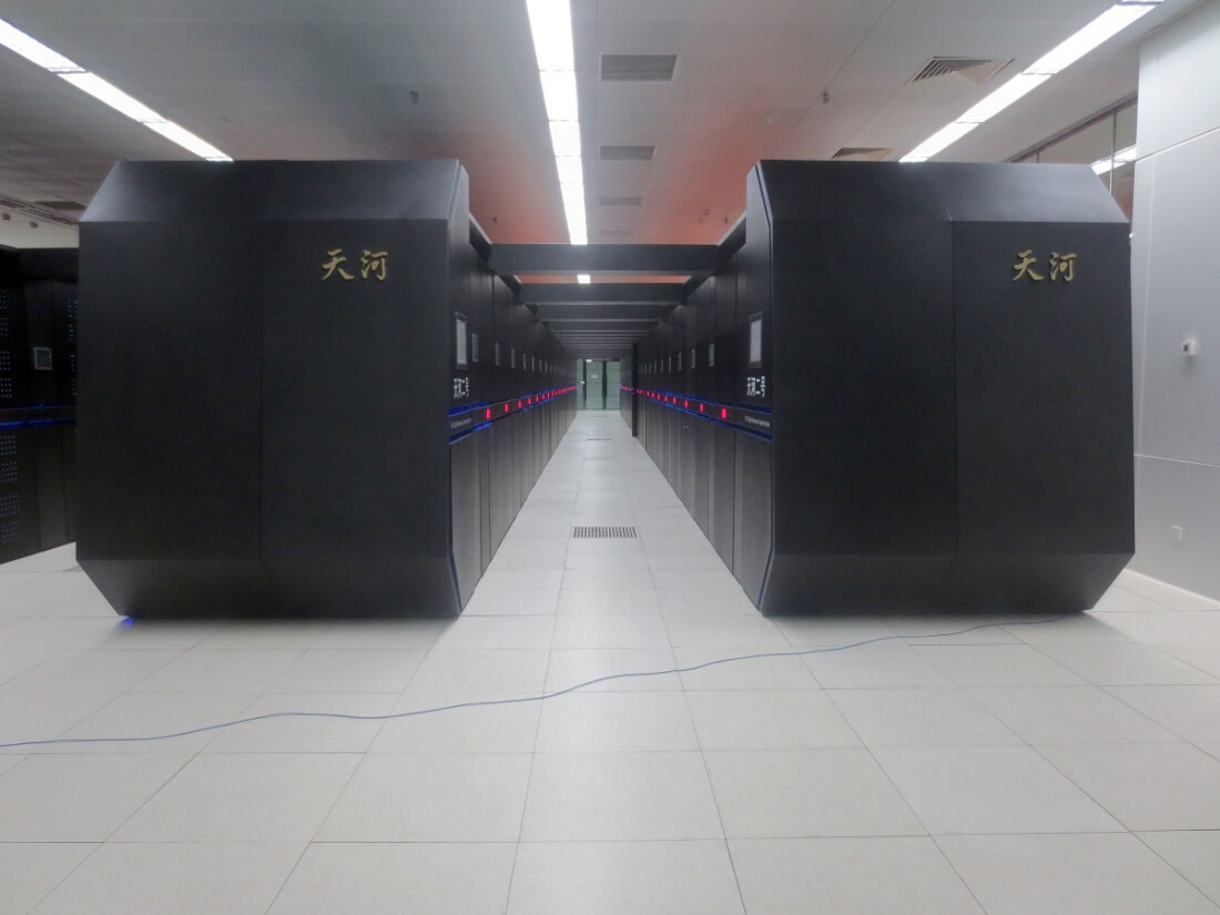 US bars Chinese supercomputer firms from buying American parts