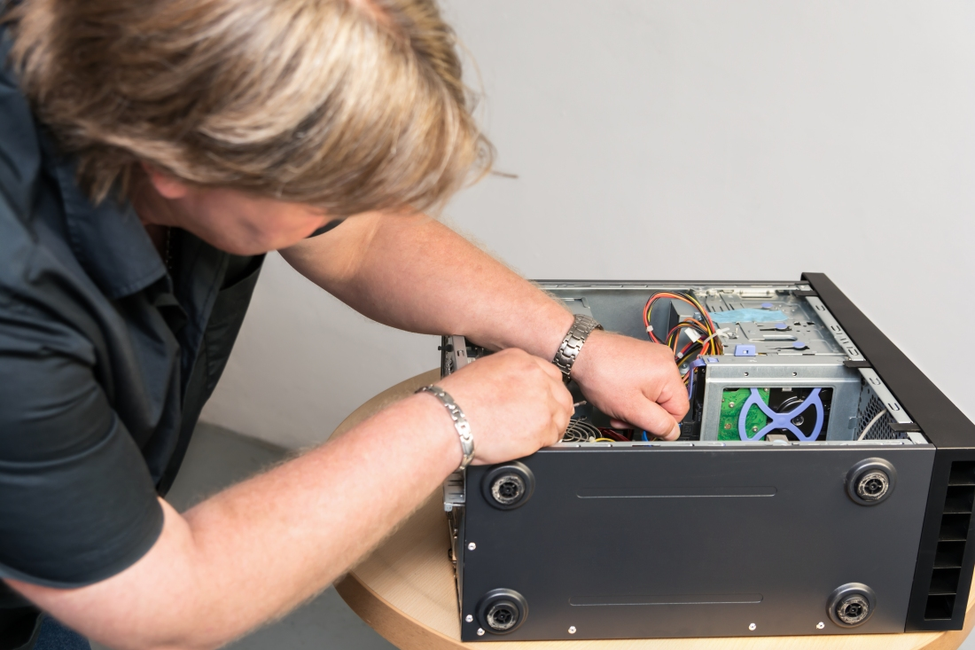 You're likely to get charged more if you tell the PC repair shop you have insurance