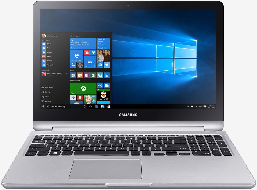 Samsung's new Notebook 7 Spin convertible starts at $799