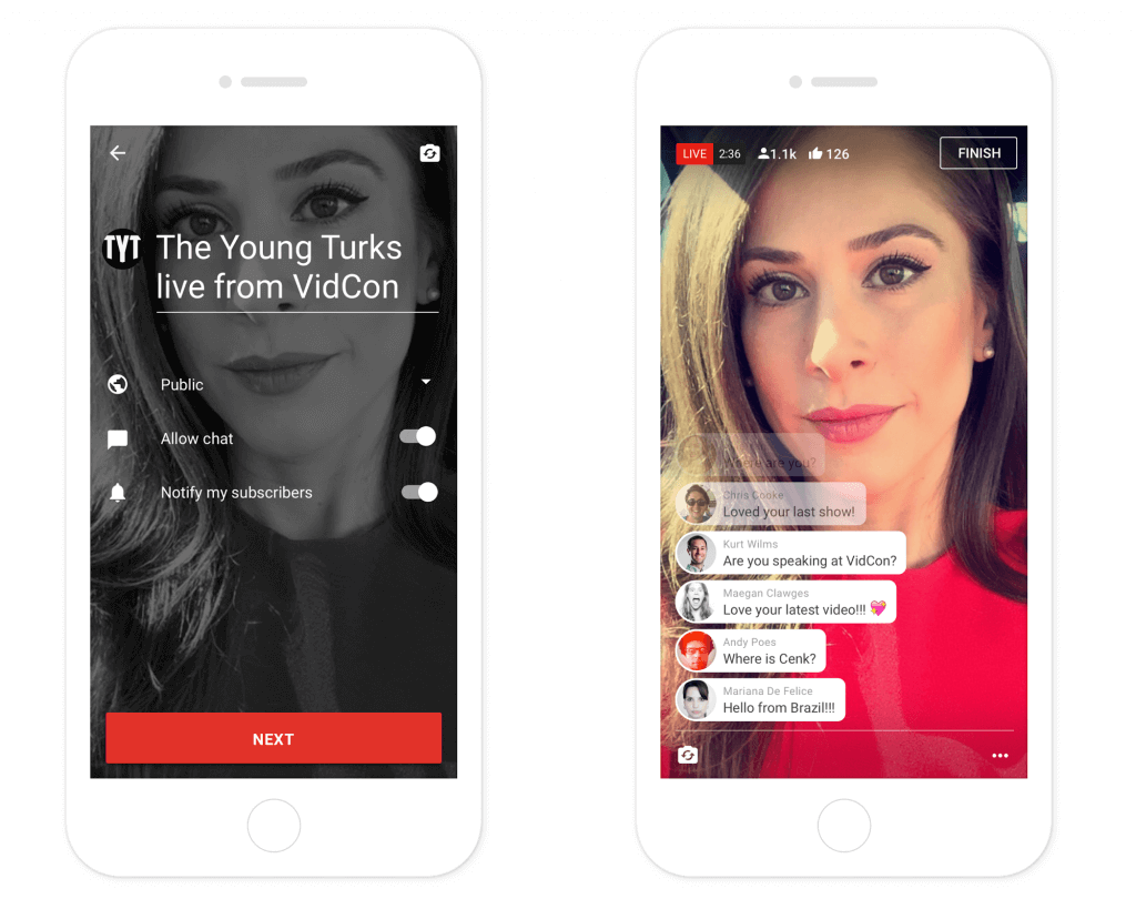 YouTube will soon let everyone livestream from its mobile app