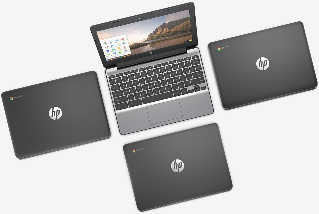 HP's Chromebook 11 G5 offers up 12.5 hours of battery life, starts at $189