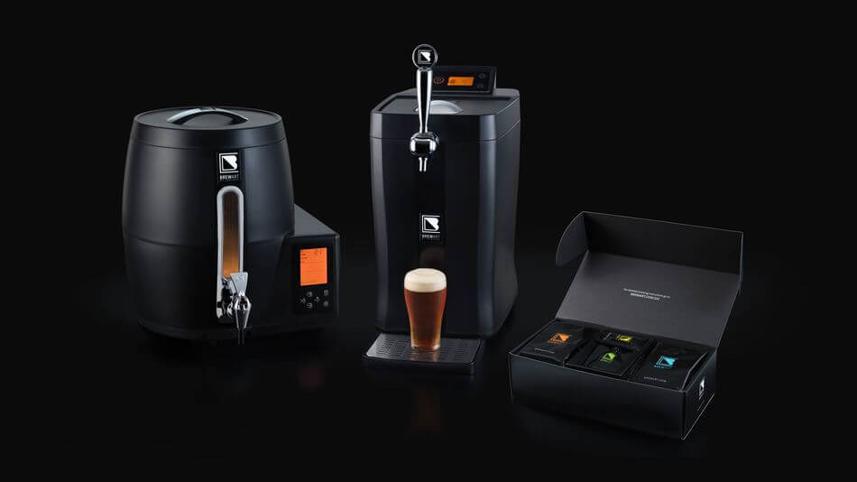BrewArt lets you easily create beers at home using a smartphone