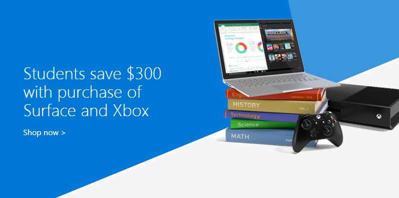 Microsoft is offering students a free Xbox One with the