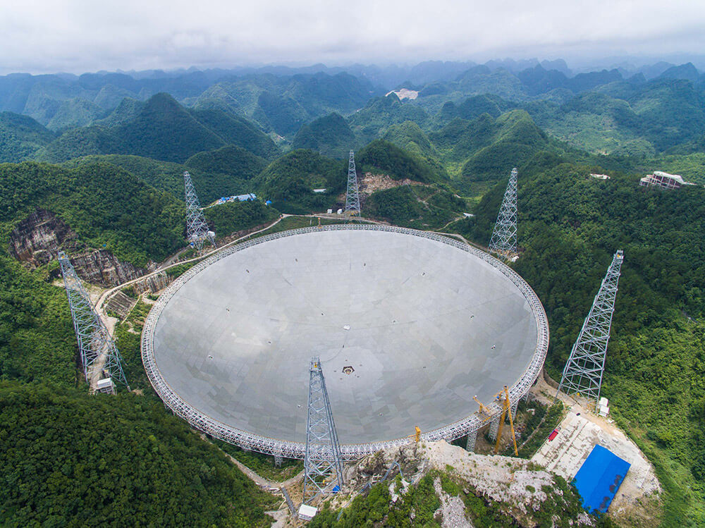 China completes work on 500-meter telescope designed to ...
